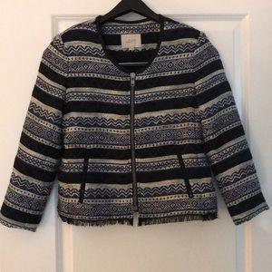 Loft patterned blazer